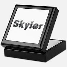 Skyler Metal Keepsake Box