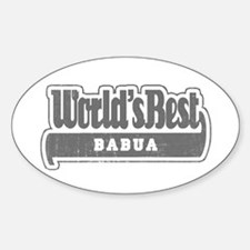 WB Grandpa [Georgian] Oval Decal