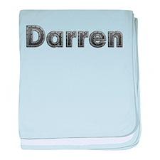 Darren Metal baby blanket