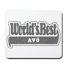 WB Grandpa [Galician] Mousepad