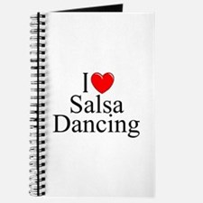 """I Love (Heart) Salsa Dancing"" Journal"