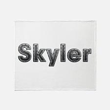 Skyler Metal Throw Blanket