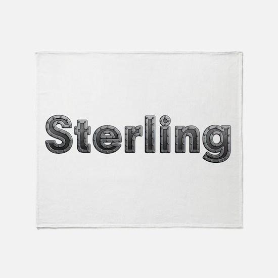 Sterling Metal Throw Blanket
