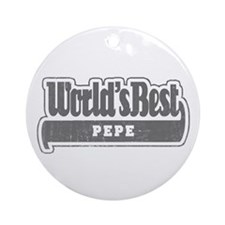 WB Grandpa [French Canadian] Ornament (Round)