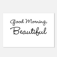 Good Morning, Beautiful Postcards (Package of 8)