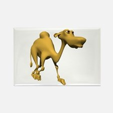 3D Style Cute Camel Rectangle Magnet