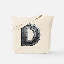 D Metal Tote Bag