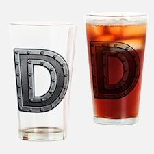 D Metal Drinking Glass