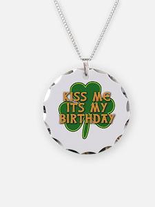 Irish Birthday with Shamrock Necklace