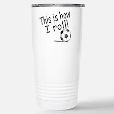 Cute World cup soccer Travel Mug