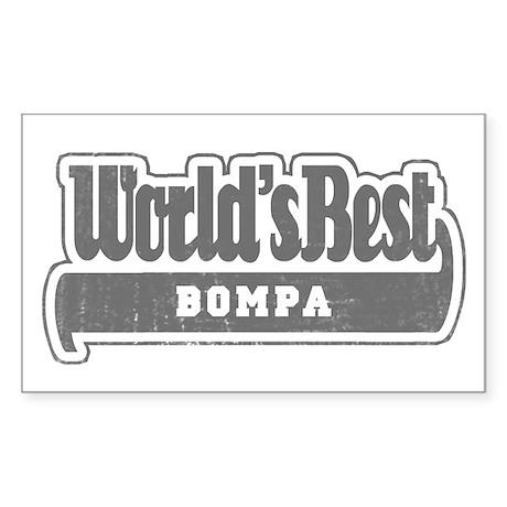 WB Grandpa [Flemish] Rectangle Sticker