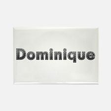 Dominique Metal Rectangle Magnet