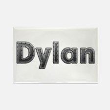 Dylan Metal Rectangle Magnet