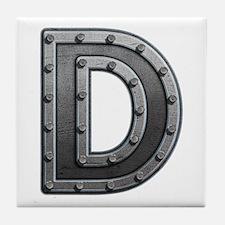 D Metal Tile Coaster