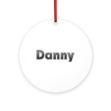 Danny Metal Round Ornament