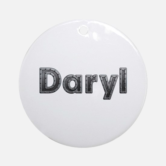 Daryl Metal Round Ornament