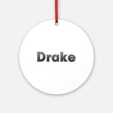 Drake Metal Round Ornament