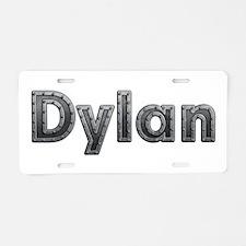 Dylan Metal Aluminum License Plate