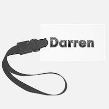 Darren Metal Luggage Tag