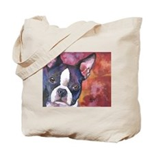 Boston Terrier #1 Tote Bag