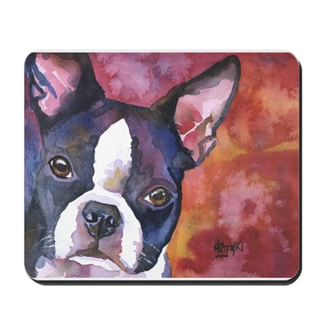 Boston Terrier #1 Mousepad