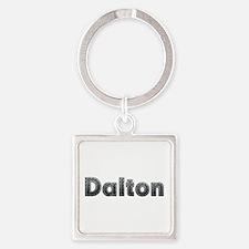 Dalton Metal Square Keychain
