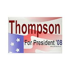 Thompson for President Rectangle Magnet