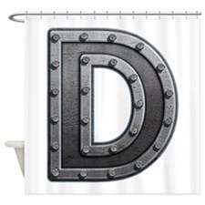 D Metal Shower Curtain