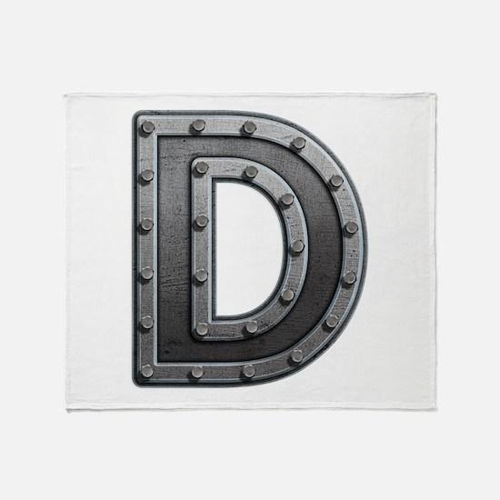 D Metal Throw Blanket