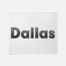 Dallas Metal Throw Blanket