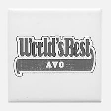 WB Grandpa [Esperanto] Tile Coaster