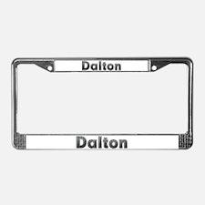 Dalton Metal License Plate Frame