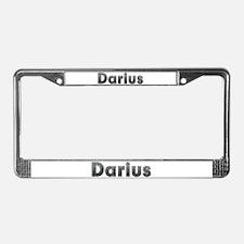 Darius Metal License Plate Frame