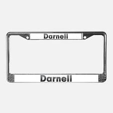 Darnell Metal License Plate Frame