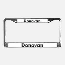 Donovan Metal License Plate Frame