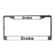 Drake Metal License Plate Frame