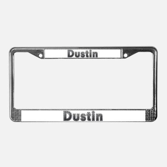 Dustin Metal License Plate Frame