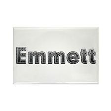 Emmett Metal Rectangle Magnet