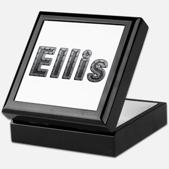 Ellis Metal Keepsake Box