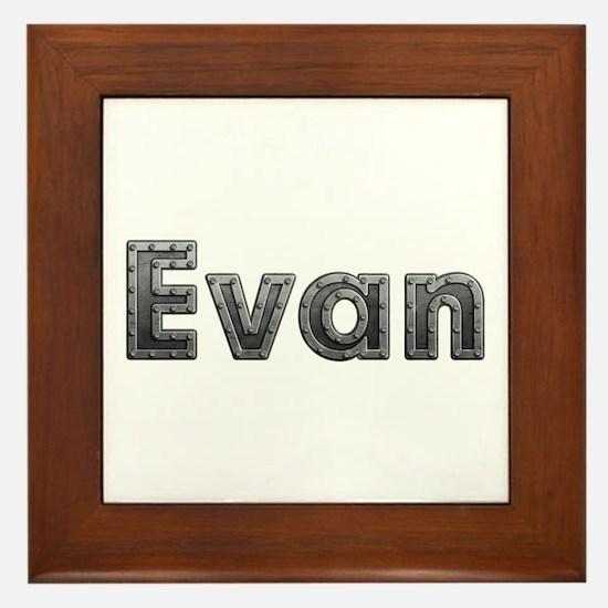 Evan Metal Framed Tile