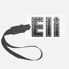 Eli Metal Luggage Tag
