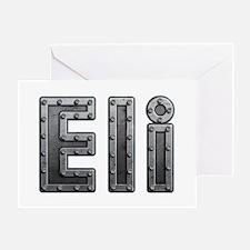 Eli Metal Greeting Card