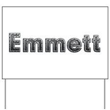 Emmett Metal Yard Sign