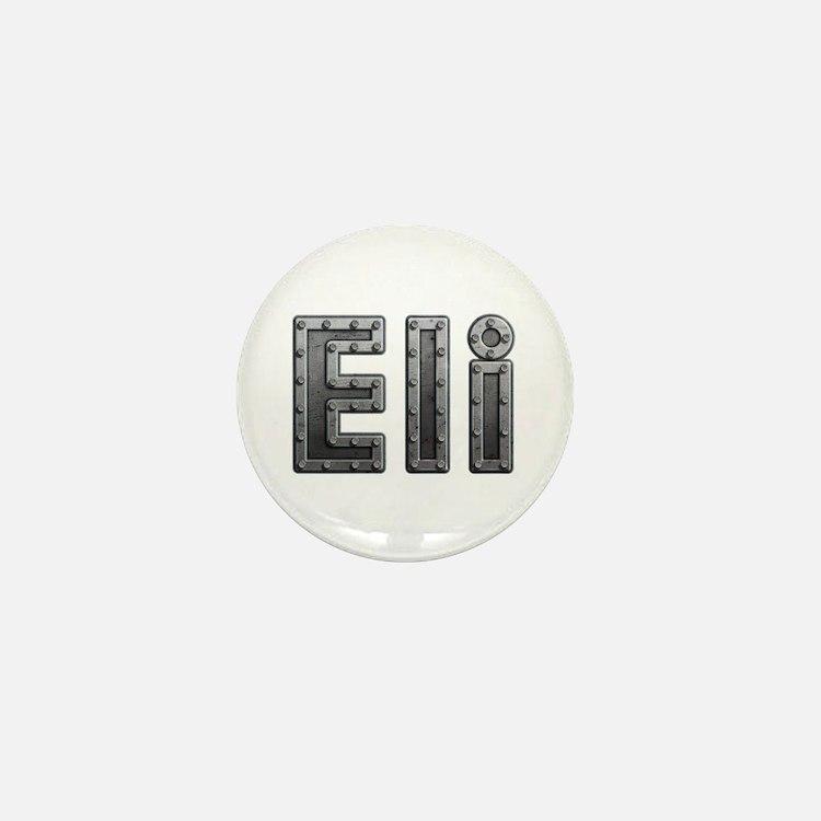 Eli Metal Mini Button