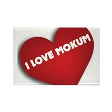 i love mokum Magnets