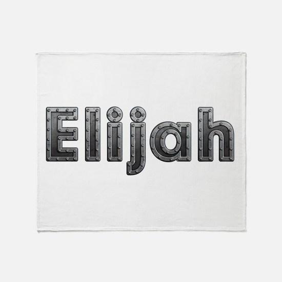 Elijah Metal Throw Blanket