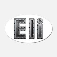 Eli Metal Wall Decal