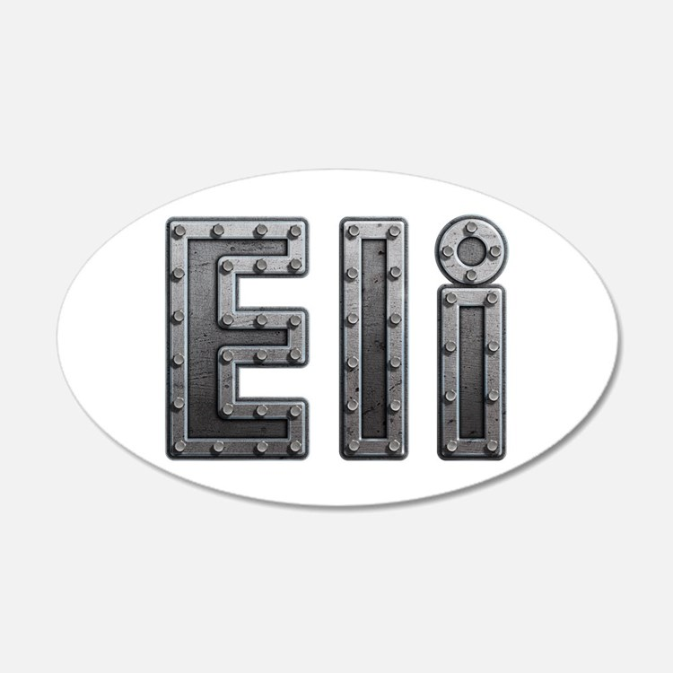 Eli Metal Wall Decal
