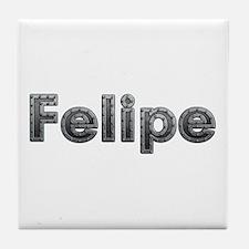 Felipe Metal Tile Coaster