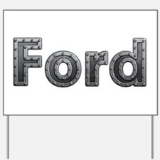 Ford Metal Yard Sign